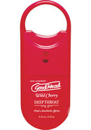 Goodhead Deep Throat To Go Oral Anesthetic Spray Cherry .33...