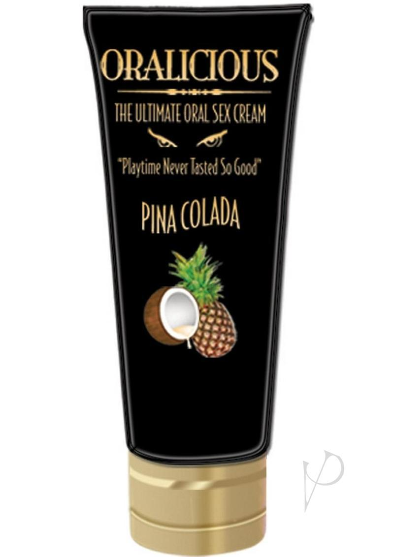 Oralicious Ultimate Oral Sex Cream 2 Ounce Pina Colada