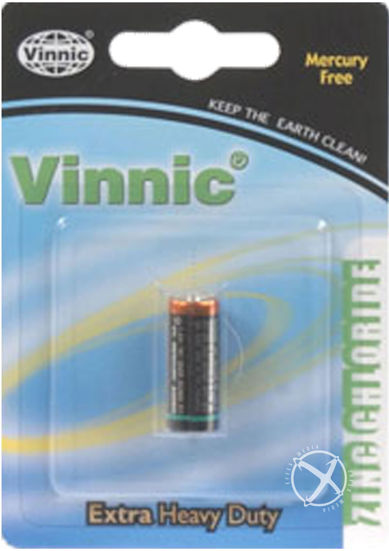 Vinnic 1.5v N Size Battery