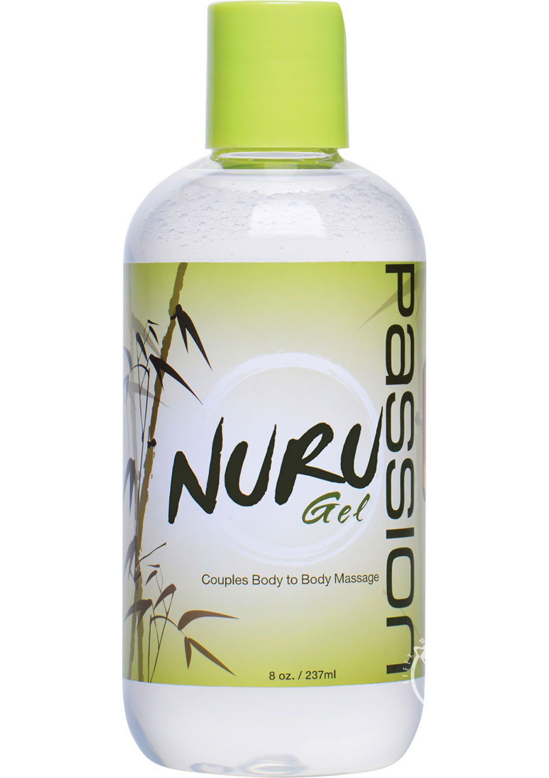 Passion Nuru Gel Couples Body To Body Massage 8 Ounce