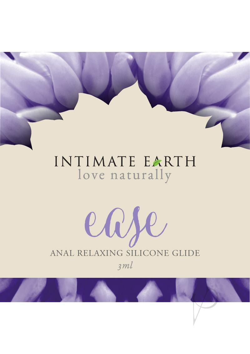 Intimate Earth Ease Anal Relaxing Silicone Glide Lube 3 Milliliter Foil Pack