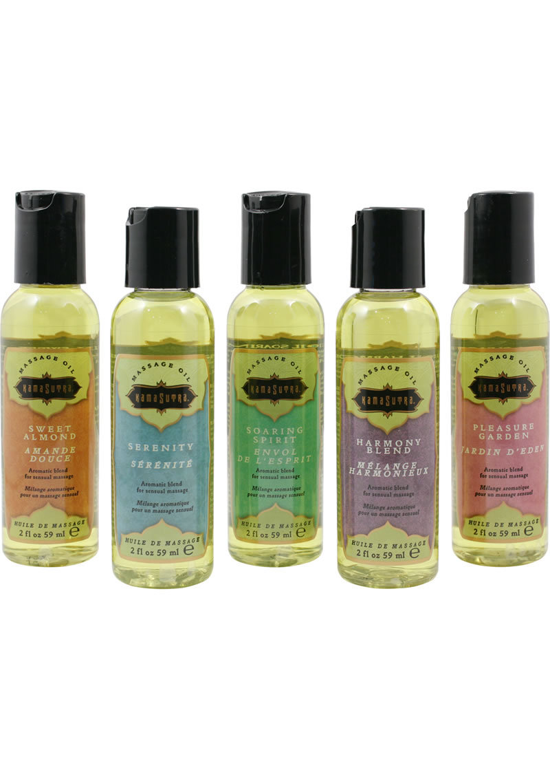 Massage Tranquility Kit Assortment Of 5 Soothing Oils 2 Ounce